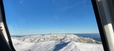 Perisher Helicopter Mountains View