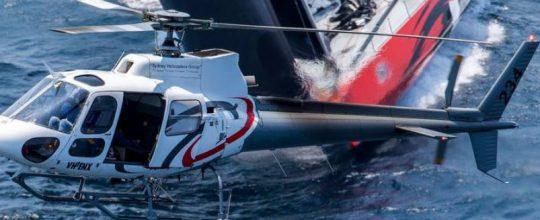 Alpine events create scenic flight opportunity